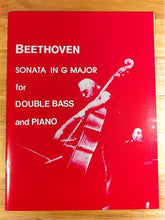 Load image into Gallery viewer, Beethoven - Sonata in G Major for Double Bass & Piano - Quantum Bass Market