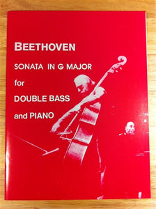 Beethoven - Sonata in G Major for Double Bass & Piano - Quantum Bass Market