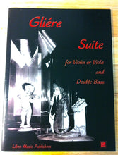 Load image into Gallery viewer, Gliere, Reinhold - Suite for violin OR viola and bass - Quantum Bass Market
