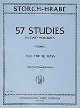 Load image into Gallery viewer, Storch-Hrabe 57 studies for string bass volume 1 - Quantum Bass Market