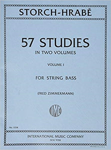 Storch-Hrabe 57 studies for string bass volume 1 - Quantum Bass Market
