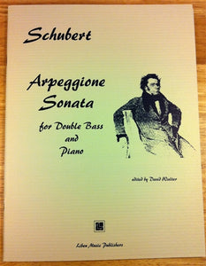 Schubert, Franz - Arpeggione Sonata arr. for Double bass and Piano - Quantum Bass Market