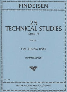 Findeisen - 25 Technical studies, Book 1 - Quantum Bass Market