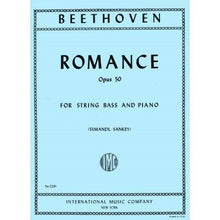 Load image into Gallery viewer, Beethoven - Romance, Op. 50 for String Bass and Piano - Quantum Bass Market