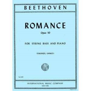 Beethoven - Romance, Op. 50 for String Bass and Piano - Quantum Bass Market