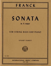 Load image into Gallery viewer, Franck, C. - Sonata in A for String Bass and Piano - Quantum Bass Market