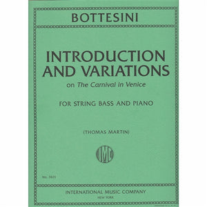 Bottesini, G. - Introductions and Variations on 'Carnival in Venice' - Quantum Bass Market