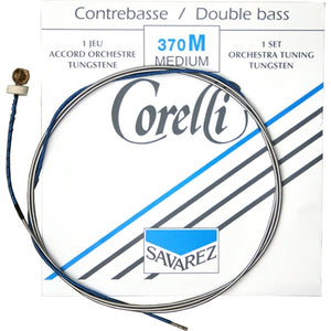 Corelli 370 Upright Double Bass String Set, Medium Gauge - Quantum Bass Market