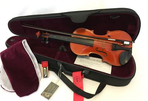 Schuster Concertmaster violin outfit - Quantum Bass Market