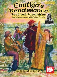 Cantiga's Renaissance Festival Favorites Music Book - Quantum Bass Market