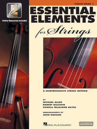 Essential Elements for Strings, Violin, Book 1 - Quantum Bass Market