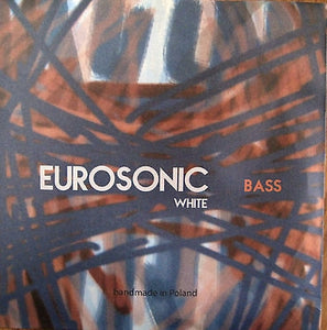 Eurosonic 'White' wrapped nylon strings, set - Quantum Bass Market
