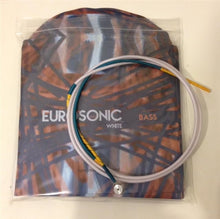 Load image into Gallery viewer, Eurosonic 'White' wrapped nylon strings, set - Quantum Bass Market