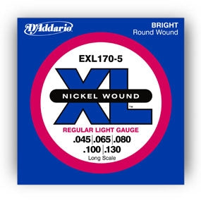 D'Addario EXL 170 electric bass strings (4-string set) Long Scale - Quantum Bass Market