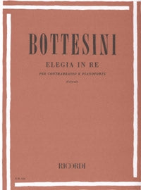Bottesini, G. - Elegia in Re per Contrabbasso e Pianoforte - Quantum Bass Market