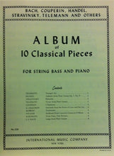 Load image into Gallery viewer, Album of 10 Classical Pieces for String Bass and Piano - Quantum Bass Market