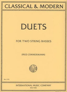 Classical and Modern Duets for Two String Basses - Quantum Bass Market
