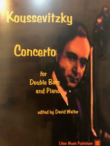 Koussevitzky, S. - Concerto for Double Bass & Piano - Quantum Bass Market