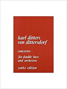 Concertos for double bass and orchestra- Karl Ditters Von Dittersdorf - Quantum Bass Market