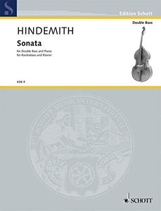 Hindemith, P. - Sonata for Double Bass and Piano - Quantum Bass Market