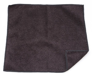 "Cleaning Cloth - 13"" x 13"" black microfiber - our exclusive!"