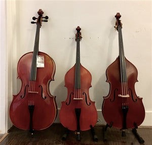 Double bass (string bass), 1/32 size, month-to-month rental reservation - Quantum Bass Market