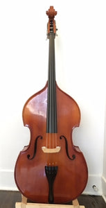 Double bass (string bass), 1/4 size, month-to-month rental reservation - Quantum Bass Market