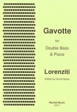 Load image into Gallery viewer, Lorenziti - Gavotte for Double Bass & Piano - Quantum Bass Market