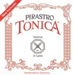 Strings, violin, Pirastro Tonica, Ball End Set - Quantum Bass Market