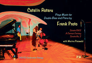 Frank Proto, Catalin Rotaru - Plays Music for Double Bass and Piano - Quantum Bass Market