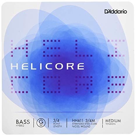 D'Addario Helicore Hybrid Upright Double Bass String Set - Quantum Bass Market