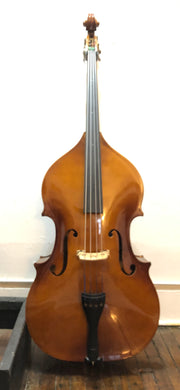 Reconditioned used violin, German, 3/4 size, with case and bow - Quantum Bass Market