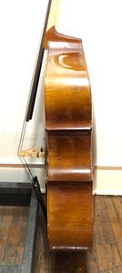 Christopher DB203Q 1/4 size laminated bass, 2001