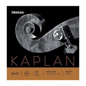 Kaplan Upright Double Bass String Set, Heavy Gauge - Quantum Bass Market