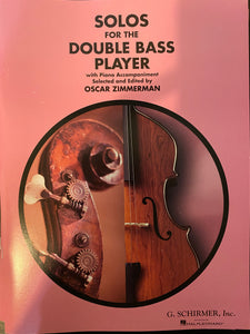Zimmerman, Oscar (ed.) - Solos for the Double Bass Player - Quantum Bass Market