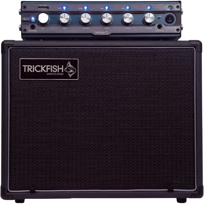 TrickFish 1k Amp with Cabinet Rental Reservation - Quantum Bass Market