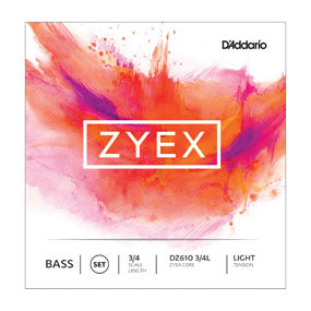 Zyex Bass Strings, Light gauge set - Quantum Bass Market