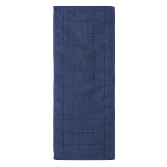 JACQUARD TOWEL  <br>(Face Towel / Indigo)