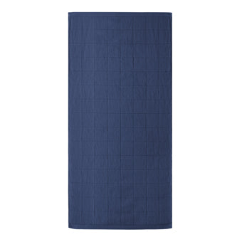 JACQUARD TOWEL  <br>(Bath Towel / Indigo)