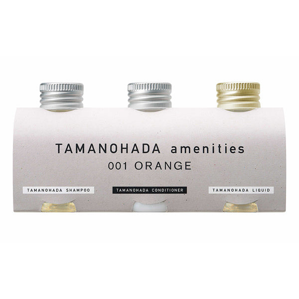 TAMANOHADA AMENITIES <br>001 - ORANGE