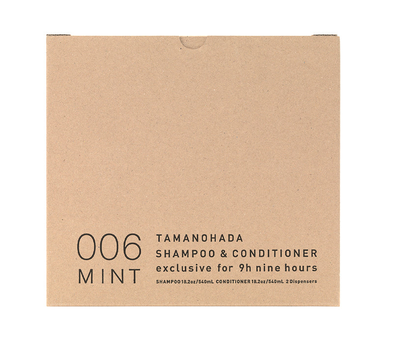 TAMANOHADA SHAMPOO & CONDITIONER : <br>9h edition (LIMITED) <br>006 MINT