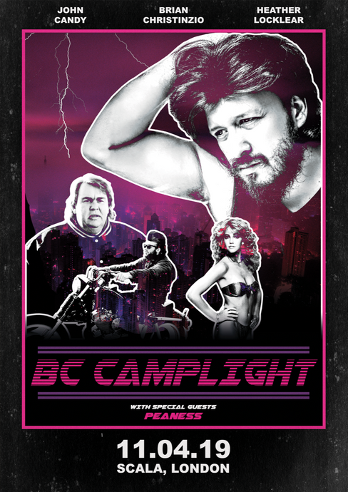 BC Camplight 'Scala - 2019' Show Poster