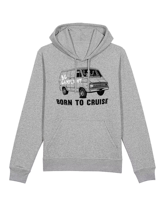 Born To Cruise Hoodie (Grey)