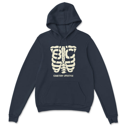 Cemetery Lifestyle Hoodie (Navy)