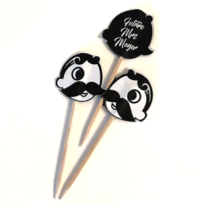 zCustomizable Natty Boh Cupcake Topper (Set of 24)