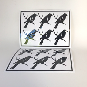 Reusable Bird Drink Labels (Set of 12)