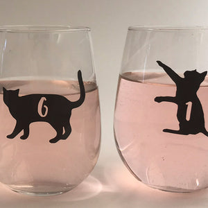 Reusable Cat Drink Labels (Set of 12)