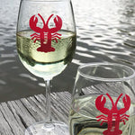 Personalized Lobster Drink Labels (Set of 12)