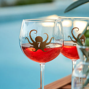 Reusable Octopus Drink Labels (Set of 12)