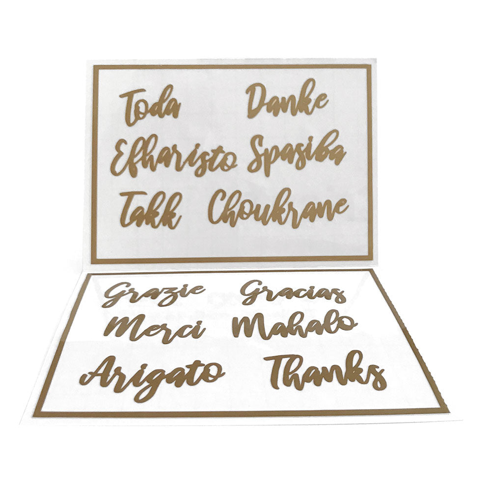 "Reusable ""Thanks"" Labels"